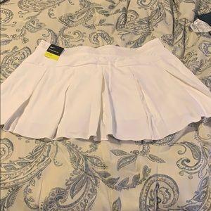 Nike White Tennis Skirt - workout